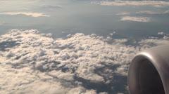 Jet lentokone Moottorit, lentokoneturbiineja, 3D Arkistovideo