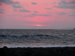 Sunset Beach Kuvituskuvat