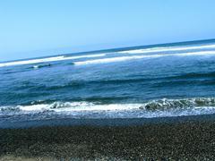 relax beach - stock photo
