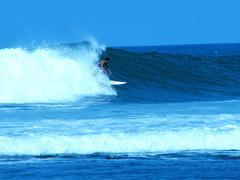 Surffailusta rannalla Meksikossa Kuvituskuvat