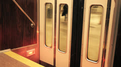 Riding the Subway 2, Color Corrected Stock Footage