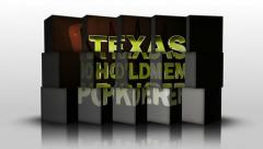 26 texas holdem and greenscreen Stock Footage