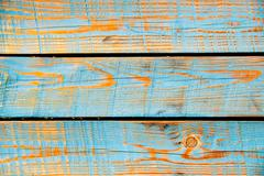 Stock Photo of texture of cyan painted wood