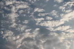 Colorful Dramatic Clouds Stock Photos