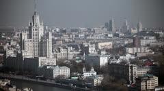 Moscow, Ozerkovskaya nab. Stock Footage