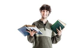 studying philosophy - stock photo