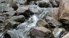 Running stream - stock footage