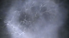 Clouds thunder 4k Stock Footage