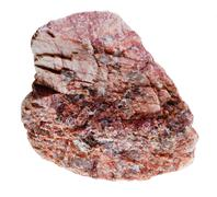 Pink mineral with crystalline inclusions Stock Photos