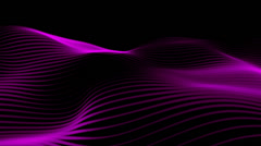 Abstract violet lines energy Stock Footage