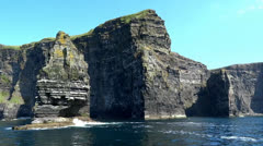 Cliffs of Moher 2 Stock Footage