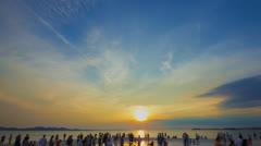 Zadar Greeting the Sun - pozdrav Suncu Time Lapse ProRes Stock Footage