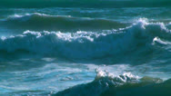 Stock Video Footage of Ocean waves