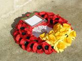Stock Photo of Poppy Wreath