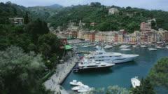 Portofino Harbor Italy - 29,97FPS NTSC Stock Footage