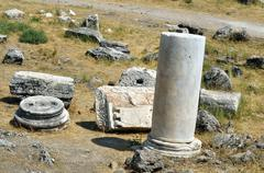 Hierapolis ruins Stock Photos