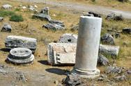 Hierapolis ruins Stock Photos