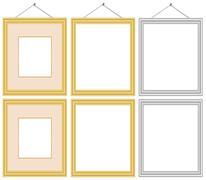 Frame Set - stock illustration