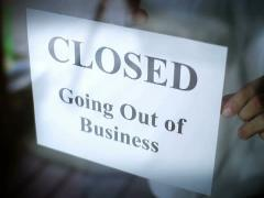 Going Out of Business NTSC Stock Footage