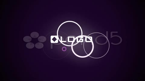 After Effects Project - Pond5 Clean Purple Elegant Text and Logo Reveal Int ...