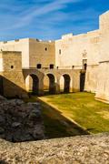 Castle moat Stock Photos