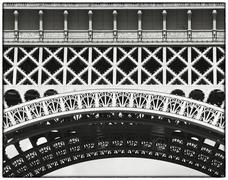 Detail of eiffel tower metalwork, paris, france Stock Photos