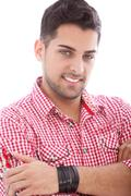American indian male Stock Photos