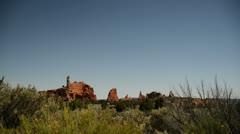 Kodachrome Basin 02 Spire Rocks Stock Footage