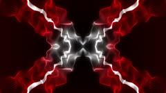 X Red Energy LOOP Stock Footage