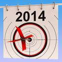 Stock Illustration of 2014 calendar means planning annual agenda schedule