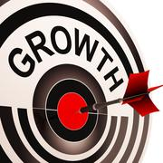 growth shows maturity, growth and improvement - stock illustration