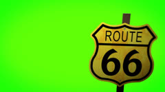Route66 Stock Footage