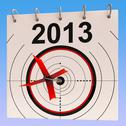 Stock Illustration of 2013 calendar means planning annual agenda schedule