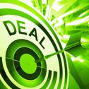 Stock Illustration of deal means bargain or partnership agreement