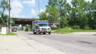 Stock Video Footage of Ambulance Going to Call