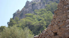 Ancient Cities of Olympos and Antalya - stock footage
