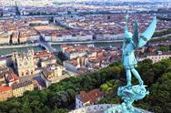 Stock Photo of famous view of lyon