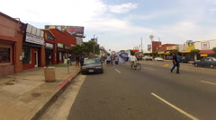 Protest March In Los Angeles Streets For Travon Martin Stock Footage