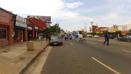 Stock Video Footage of Protest March In Los Angeles Streets For Travon Martin