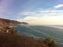 Point Mugu - California Coastline Stock Photos