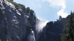Bridalveil falls Stock Footage