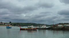 St. Mawes, Cornwall Stock Footage