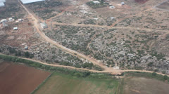 Aerial View of Antalya Turkey Stock Footage