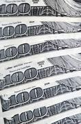 American money Stock Photos
