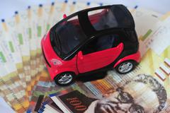 Stock Illustration of photography illustration - car expenses