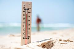 Heatwave weather Stock Photos