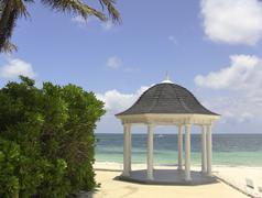 Ocean Paradise Getaway Stock Photos