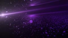 Disperse Purple - stock footage