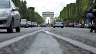 Stock Video Footage of Arc de Triomphe in Paris