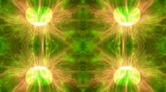 Electric plasma ball timelapse Stock Footage